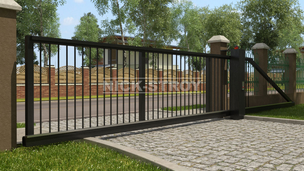 Откатные ворота coba цена купить самодельные открывание ворот
