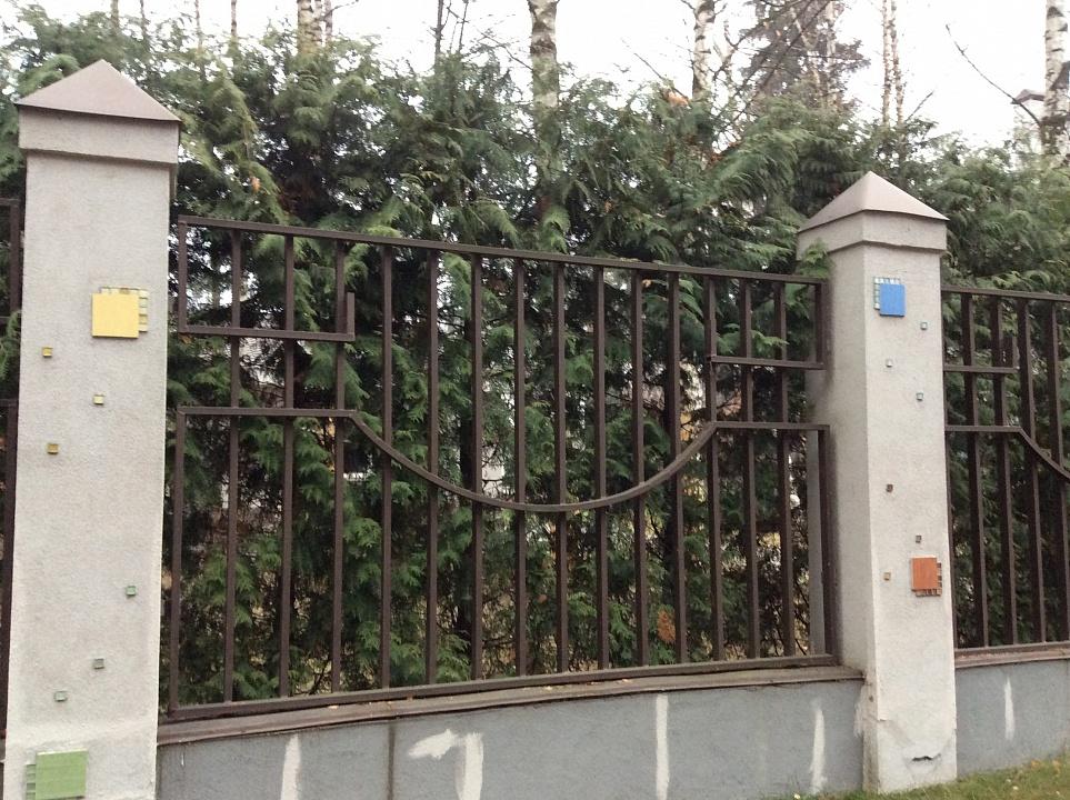 Забор сварной 8