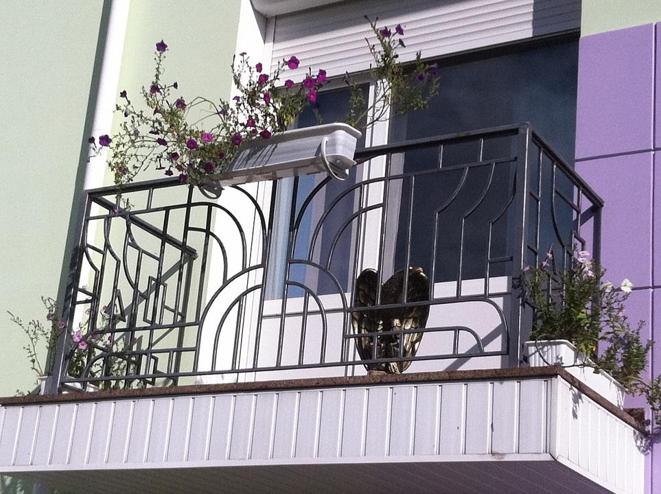 Ограждение для балкона 17