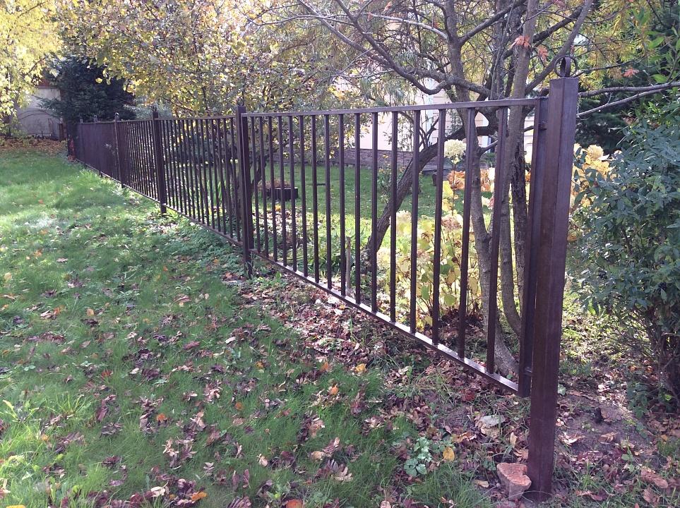 Забор сварной 9