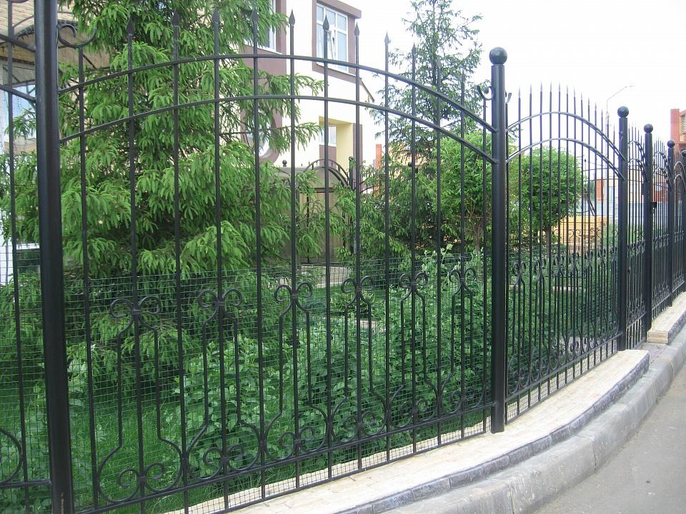 Забор сварной 13