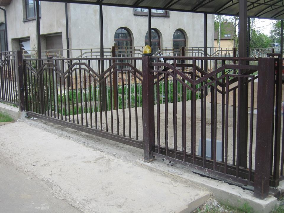 Забор сварной 3