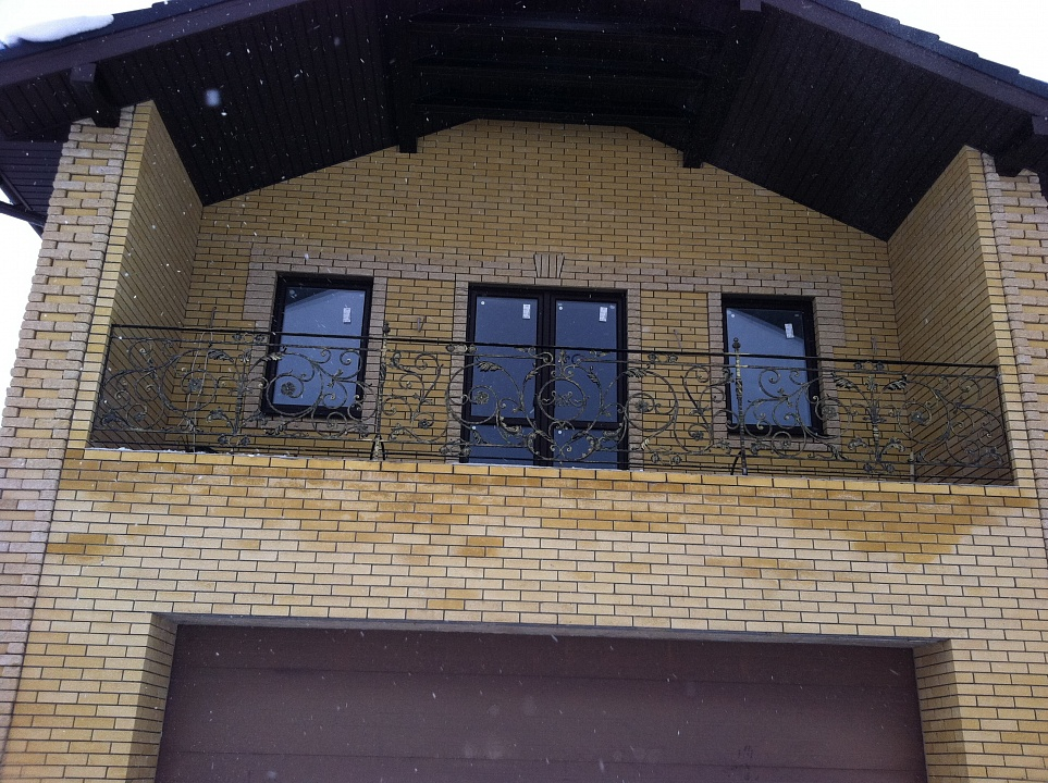 Ограждение для балкона 15