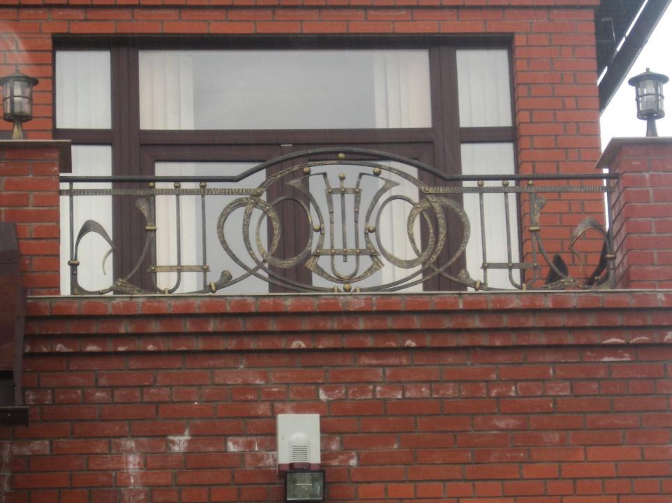 Ограждение для балкона 16