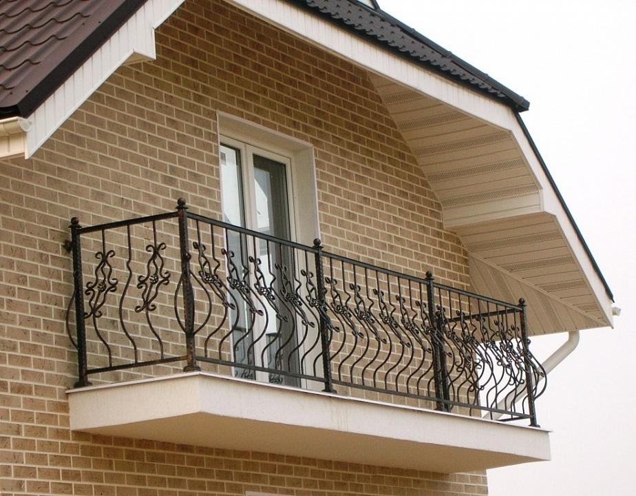 Ограждение для балкона 14