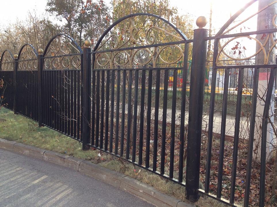 Забор сварной 4