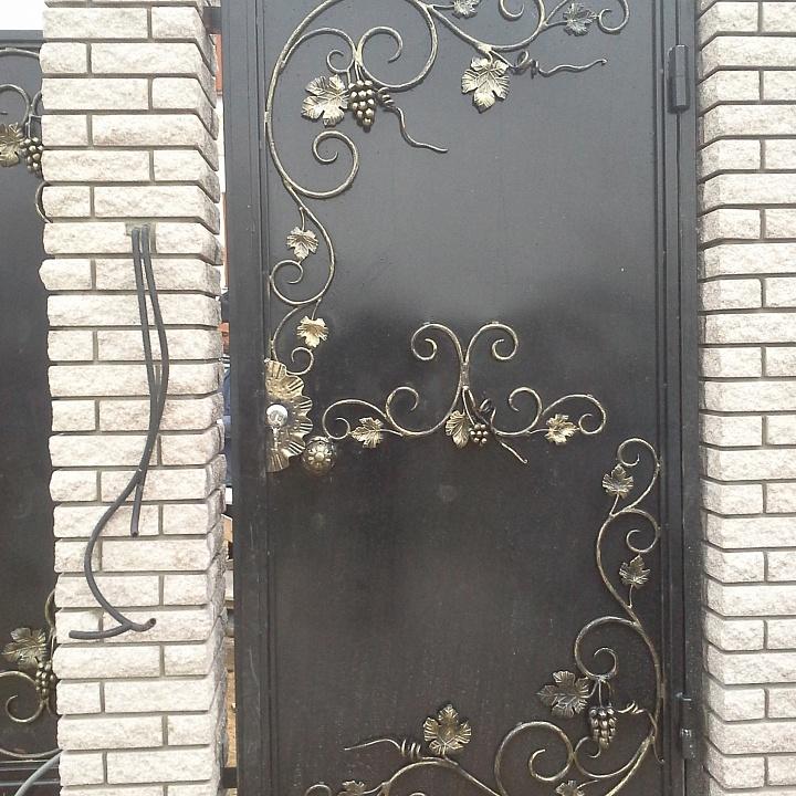 Входная дверь кованая 1
