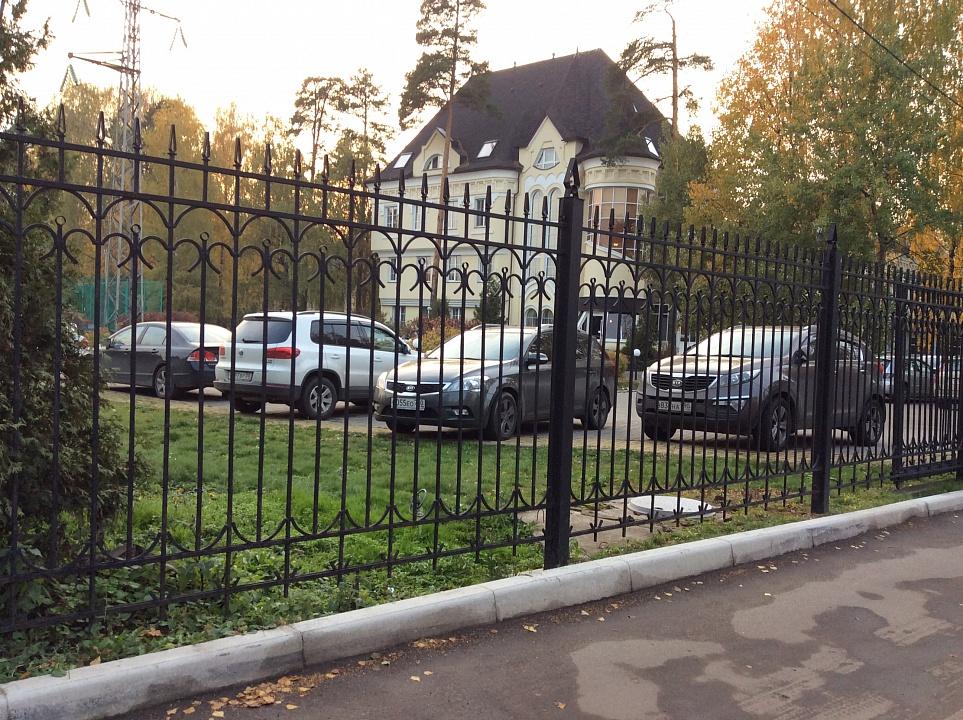Забор сварной 2