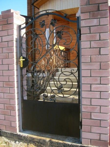 Входная дверь кованая 2