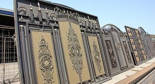 Ворота кованыег. Королев