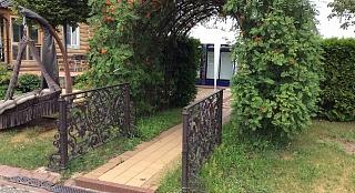 Кованная садовая арка арт. 1002