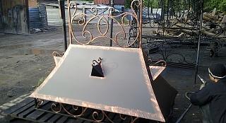 Кованный дымник арт. 2420