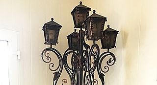 Уличный кованый фонарьОфис в Тарасовке