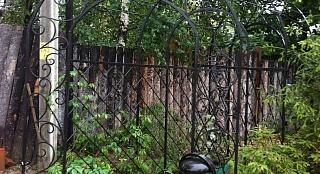 Кованная садовая арка арт. 1001