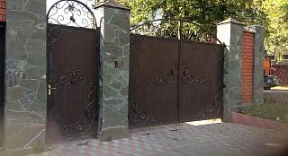 Ворота кованые 2г. Москва
